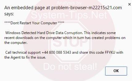 problem-browser-m22215s21.com scam