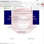 Support-online-pc.site Error # SL9DW61 scam