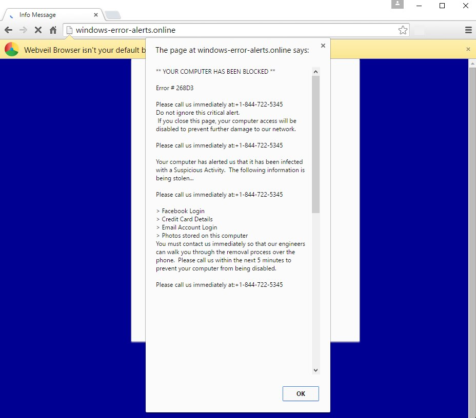 windows-error-alerts.online pop-up scam