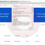 Error # 0x80072ee7 scam, a.k.a. 0 800 046 5210 fake alert