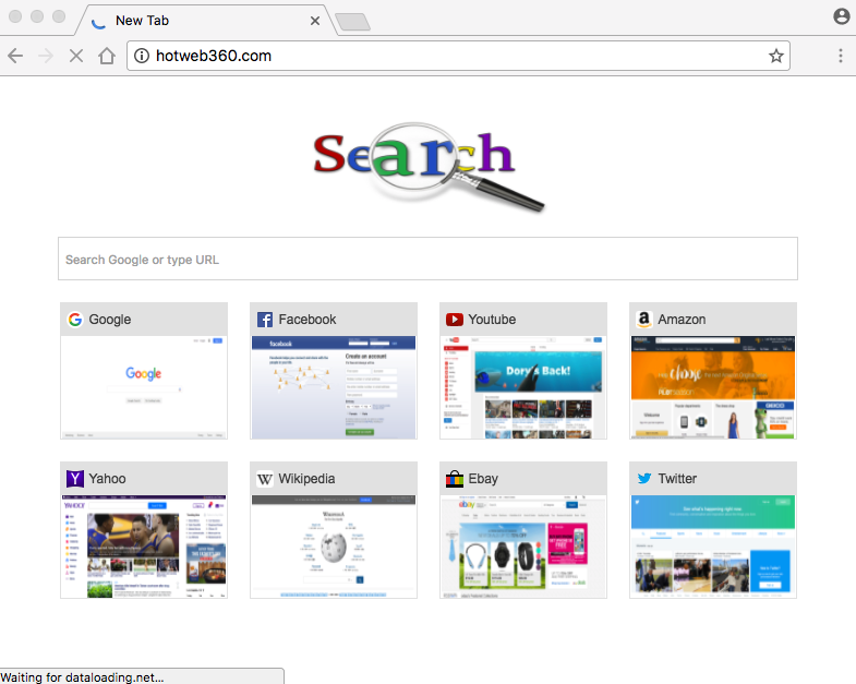 Hotweb360.com browser hijacker