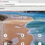 LuckyStarting browser hijacker