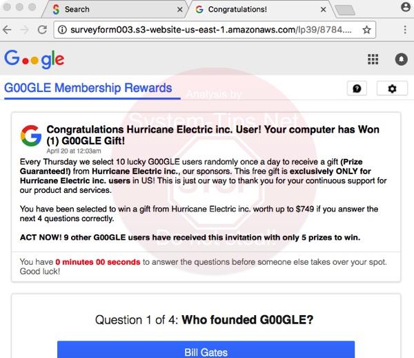 surveyform003.s3-website-us-east-1.amazonaws.com