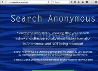 Search Anonymous hijacker