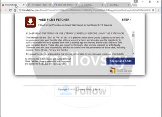 FilmsFetcher.com redirect virus