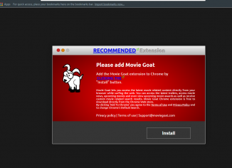 Movie Goat - nasty browser hijacker