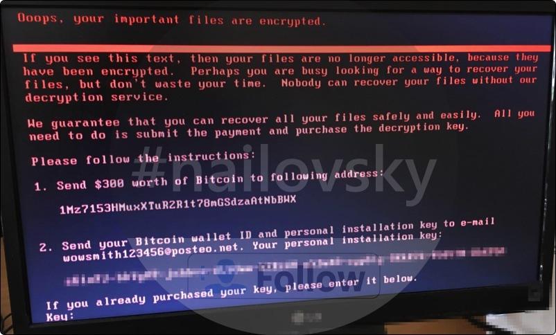 Petya (Petya.A) Ransomware