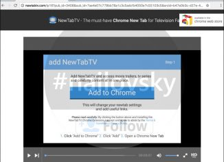 NewTabTV Chrome New Tab
