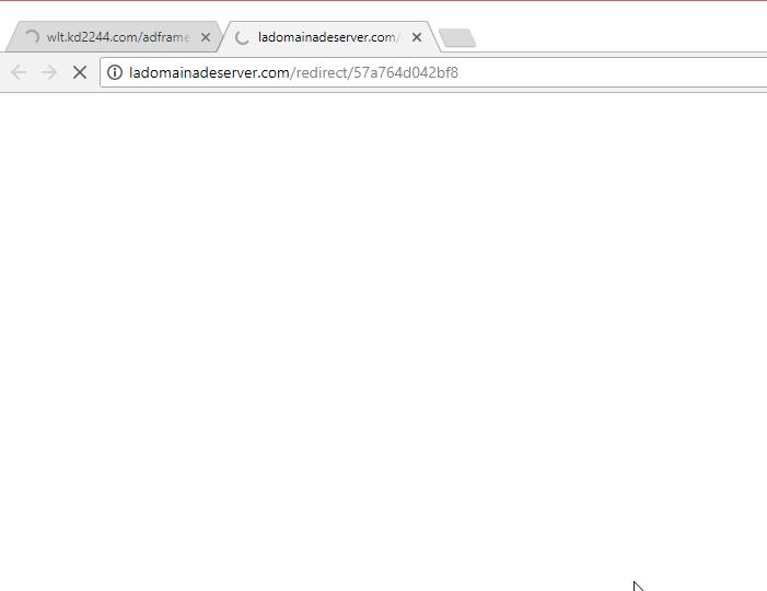 Ladomainadeserver.com redirect virus