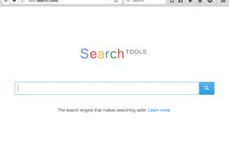 Safe.search.tools hijacker