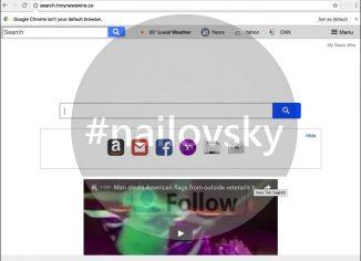 Search.hmynewswire.co Chrome hijacker