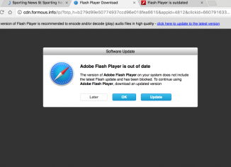 cdn.formous.info fake Flash Player Download alert