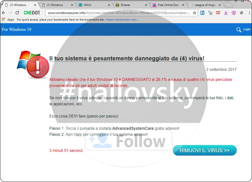 Windowsecurer.info (1) Windows online scam