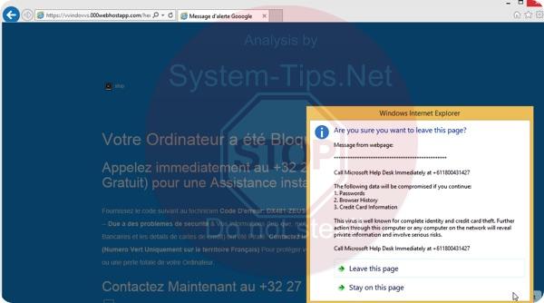 000webhostapp.com +611800431427 scam