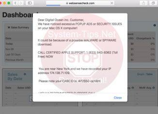 Websensecheck.com 1 (833) 843-8362 scam