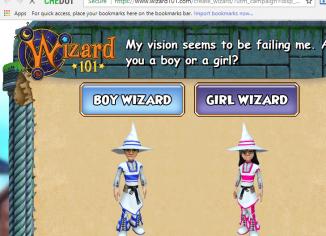 Wizard101.com game alert