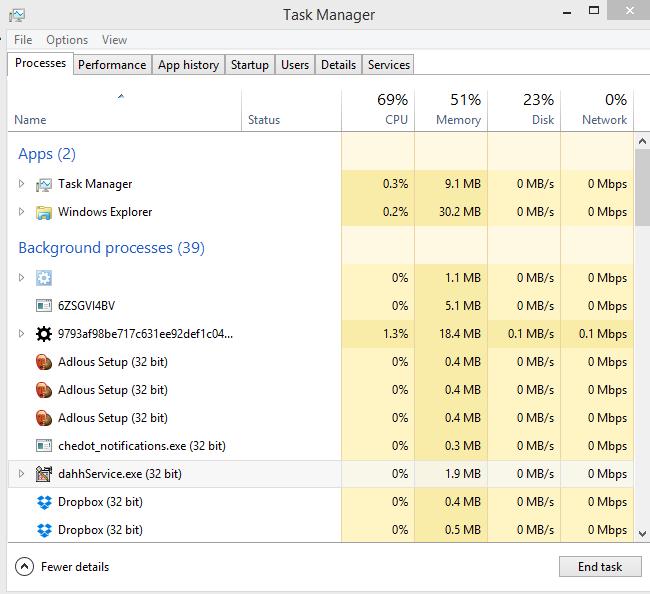 DahhService.exe (32 bit)