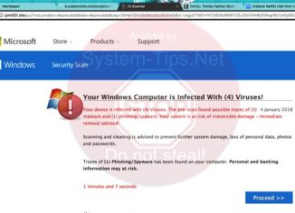 jom001.site scam scam attacking Windows browsers
