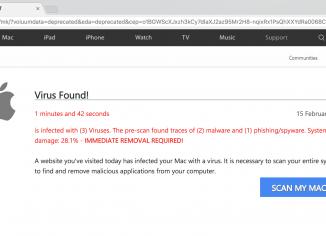 rom004.site (1) Virus Alert scam on Mac