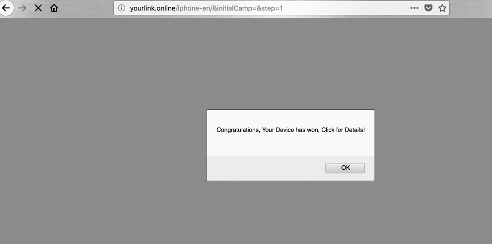 Yourlink.online redirect virus