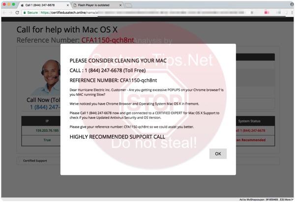Certifiedusatech.online 1 (844) 247-6678