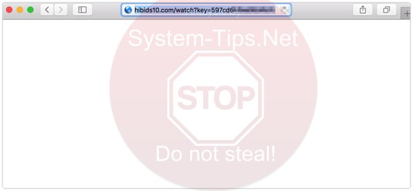 Hibids10.com/watch?key redirect