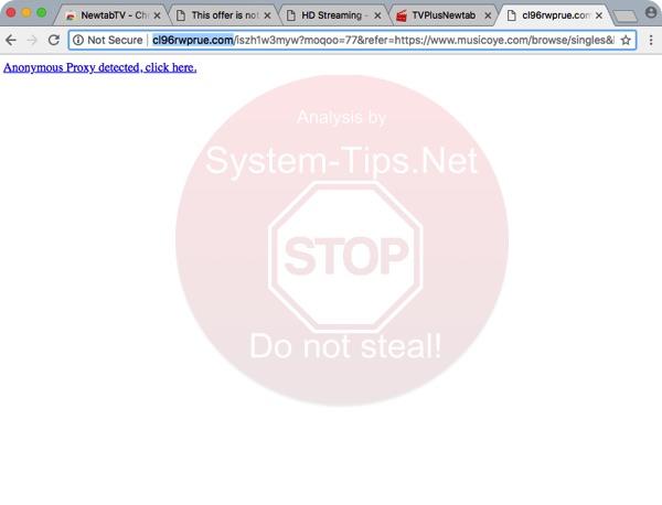 Cl96rwprue.com redirect virus