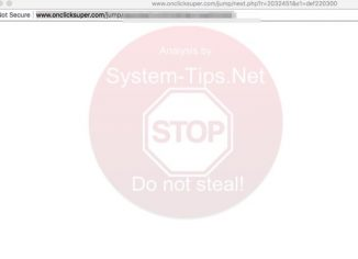 Onclicksuper.com redirect