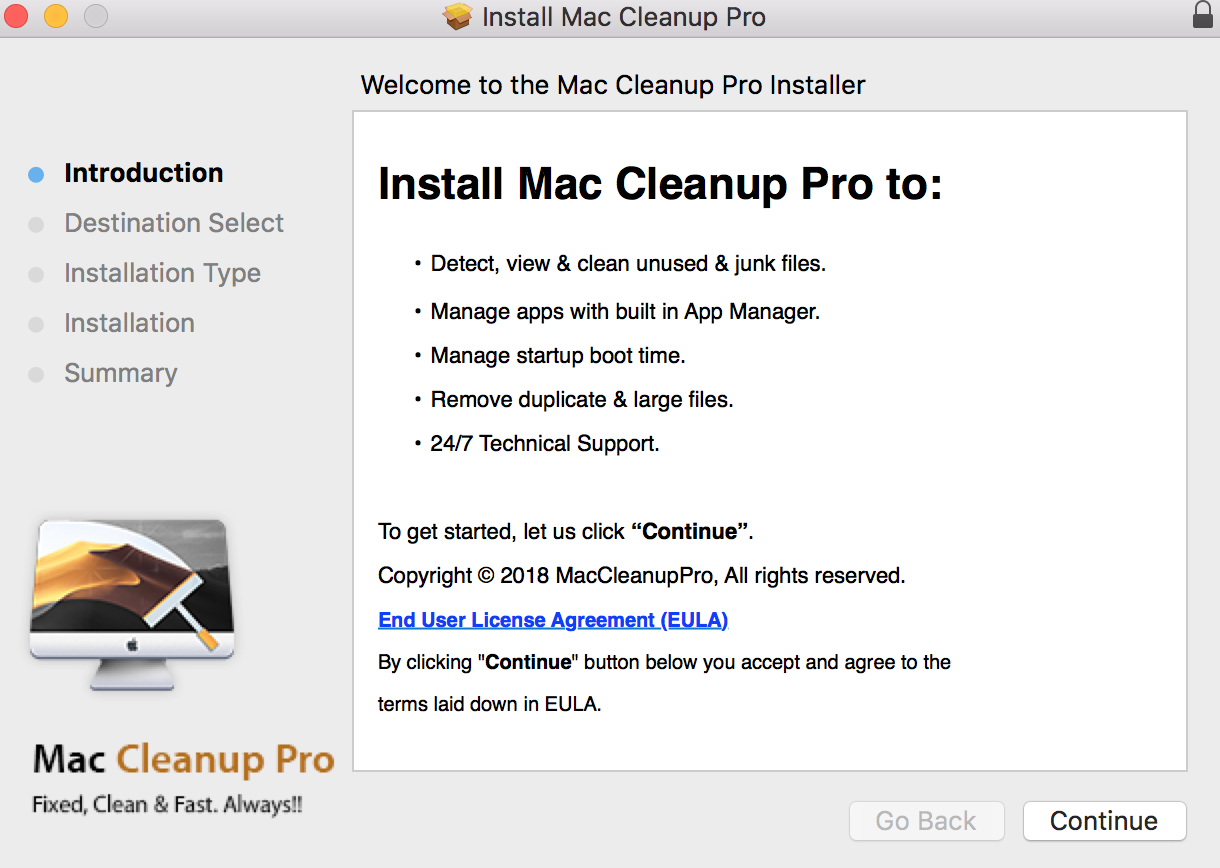 Installation of Mac Cleanup Pro normally takes place after fake Adobe Flash Player installations