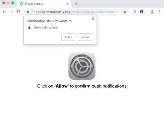 Acrohnabacility.info push notifications