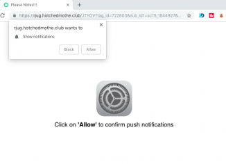 Hotchedmothe.club push notifications