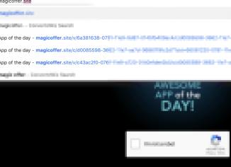 Magicoffer.site redirect trojan
