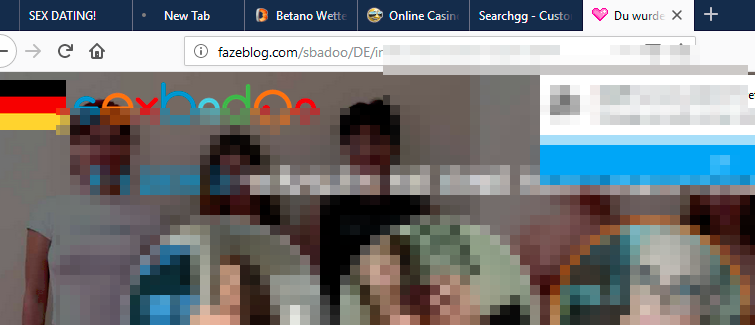 Fazeblog.com filthy alert