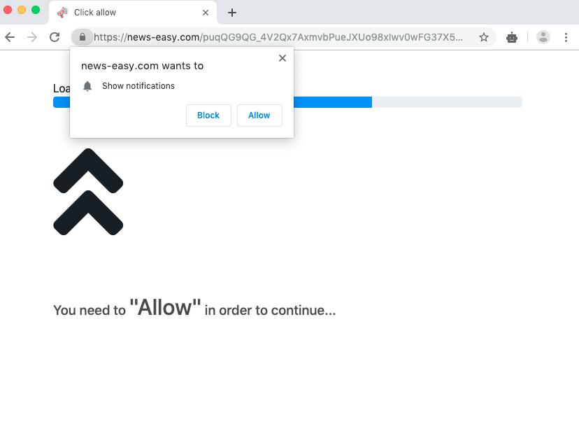 News-easy.com pop-up virus