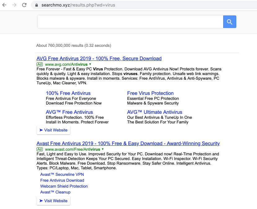 Searchmo.xyz virus