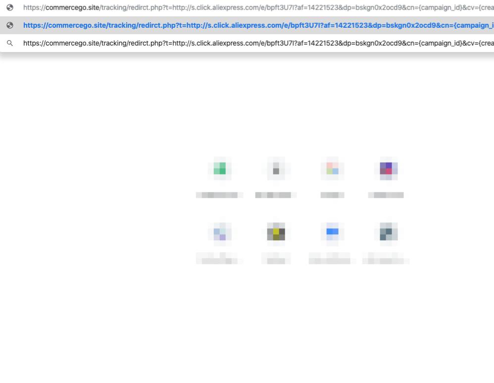 Commercego.site redirect virus
