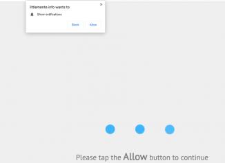 Littlemente.info push notifications