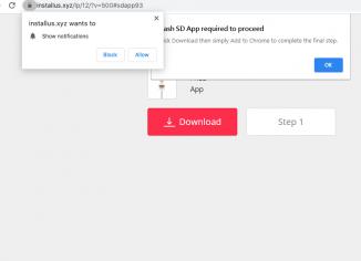 Installus.xyz Flash SD App scam