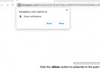 Bengekoo.com pop-up notifications